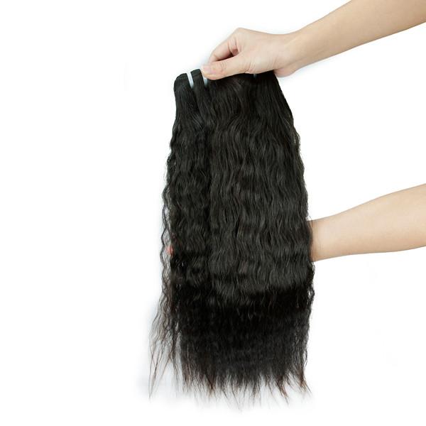 Livraison Gratuite pour 3 pcs un lot nouveau arrial cheveux trame 8a grade vague brésilienne remy vierge de cheveux