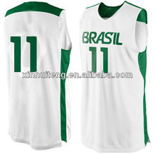 print white fashion 100% polyester wholesale custom college basketball wears