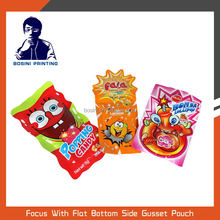 Special shaped popping candy plastic pouch