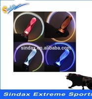 Wholesale Neon Stick Wind Fire wheel tire valve cap flash led light For Car Motorcycle Bicycle Light