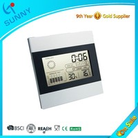 Sunny Free Desktop Digital Clock With Calendar