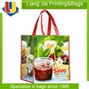 Allover Full Color Printing PP Laminated Non Woven Tote Grocery Bag