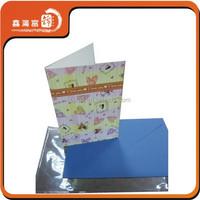 fabric die-cut printing laminated flyer design printing