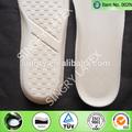 de látex plantilla de cuero para los zapatos