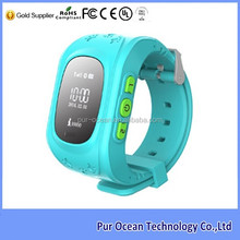 New GPS smart watch with anti-lost function and SIM card for kids