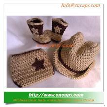 Compact Crochet Baby Cowboy Hat Pattern