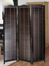 newly wooden venetian folding screen / room divider