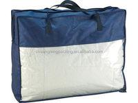 Foldable soft quilt clothes travel pvc plastic storage bag