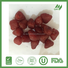 Dried strawberry product
