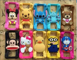 Stereo Cartoon Universal Silicon Case for Mobile Phone Case