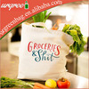 Ladies' Canvas Shoulder Bags Grocery Bag For Supermarket Shopper