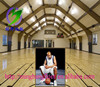 Wood pattern PVC material used basketball court for sale