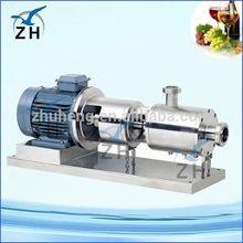 emulsion pump tissue homogenizer