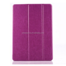 colorful tri folding pu leather case for ipad air 6 leather case