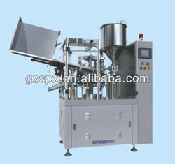 spx fully automatic soft tube filling and sealing machine
