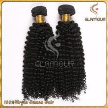 Unprocessed virgin 100% mongolian kinky curly hair,dye any color