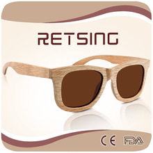 2015 Custom made sunglasses Vogue Made Wooden Sunglasses with Polarized Lenses Eyewear Bamboo