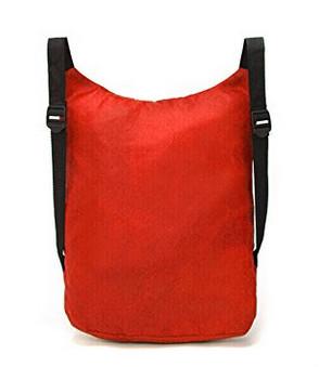 Polyester fold drawstring bag
