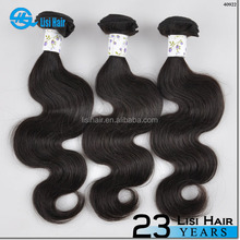 Best Selling Product 1 Piece Min Order Single Donor Chemical Free 6a unprocesse hair weft brazilian virgin hair