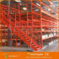 Quick Installation Heavy duty Mezzanine Rack for Warehouse Storage used