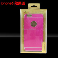 Customized Iphone Case Packaging Box with blister,printing for iphone 5s/6