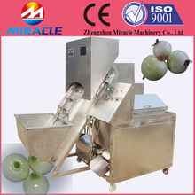 Industrial onion cutting machine to cut onion root and tail equipment