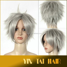 Fashion Short Wig Cosplay Party Costume Straight Wigs Full Wig Cap, the Hobbit Synthetic Cosplay Hair Wig