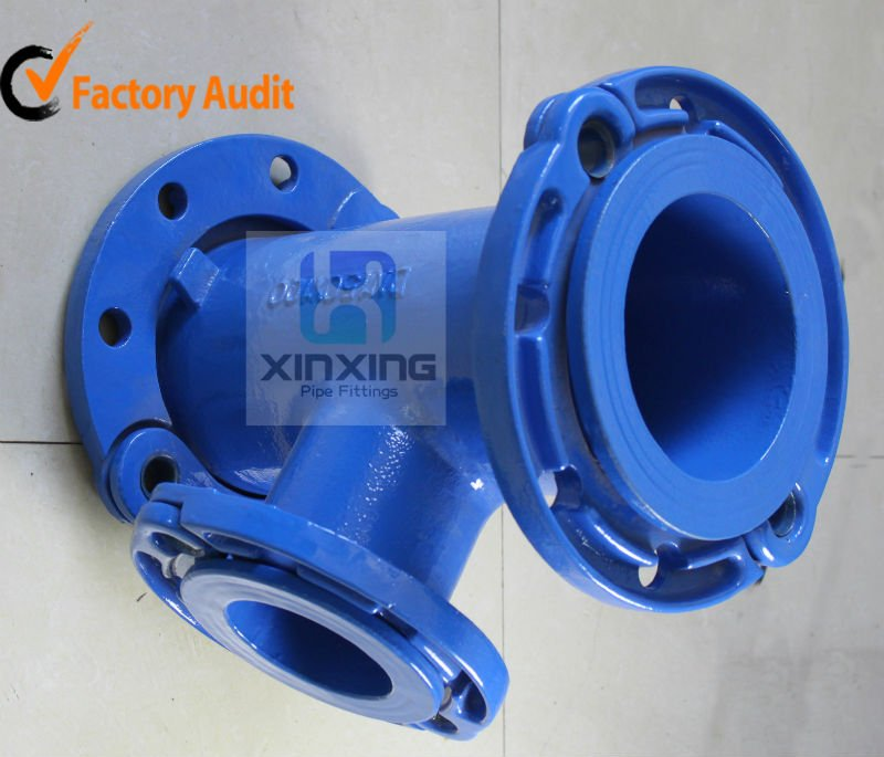 Ductile cast iron pipe fittings made in china buy di