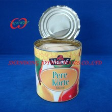 Best quality Cheap price canned pear halves in light syrup, pear canning syrup
