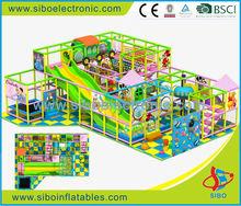 GM20130620 SIBO indoor kids plastic play naughty castle