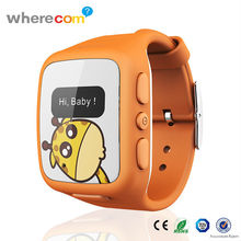 New Product Kids Vogue Silicone Watch, GPS Tracking Phone