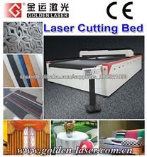 CNC de corte por láser para la industria textil y de prendas de vestir 80W 100W 150W 200W
