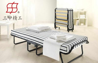 high quality metal folding single bed , folding wall bed , price of folding bed for children