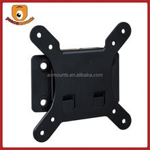 F26 Universal gloss black finish lcd display rack stainless steel lcd vesa 100 mount