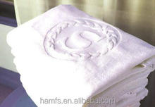 high comfortable 100% cotton hand and bath jacquard towel