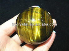 tiger eye crystal stone sphere/ball for decoration