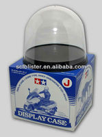 Plexiglass display dome cover;Motorcycle modle display cover