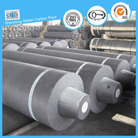 Good self-lubrication HP graphite electrode for welding iron scrap