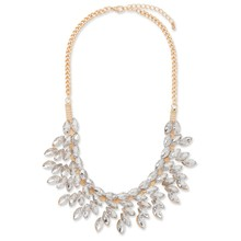 N015 Transparent Resin Accessory Fantastic Geometric Wedding Jewelry Necklace