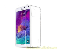 Transparent Crystal TPU Phone Cases For Samsung Galaxy Note 4 Clear Gel Silicon Cover
