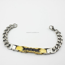 custom latest sweetness young girl bracelet china factory 316l stainless steel jewelry