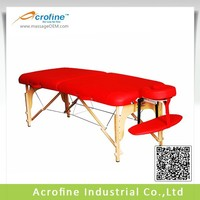 Acrofine wooden massage table Mildstar-II without side armrest extension