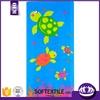 cartoon microfiber fabric reactive printing beach towel factory price