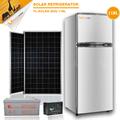 El más barato de pequeñas energía solar generador solar para compresor dc 12v/24v refrigerador solar solar solar frigorífico congelador 118l