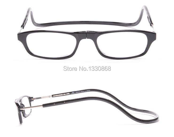 wholesale multi color magnetic reading glasses folding