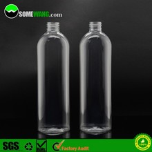 10oz 300ml trasparent pet plastic bottle clear cosmetic bottle