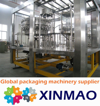 New technology filling machine for carbonated water bottling plant