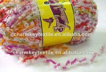 2014 nueva moda china mejor venta de lujo hilo de nylon con varios mixtured color10th