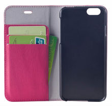 Luxury cover case for iphone 6 ,top sale leather cell phone PU case