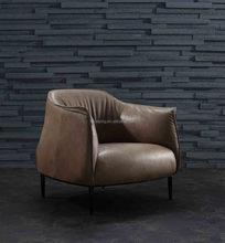 single small sofa coffee chair singal sofa living room one seater leather sofa A003